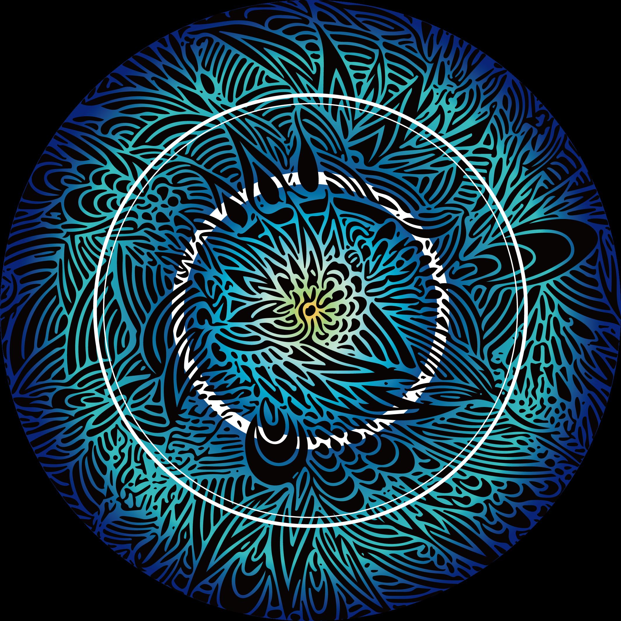 MaruTangle ロゴ ブルー